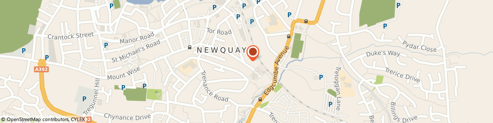 Route/map/directions to Ace Taxis, TR7 1RR Newquay, 43 St Thomas' Rd