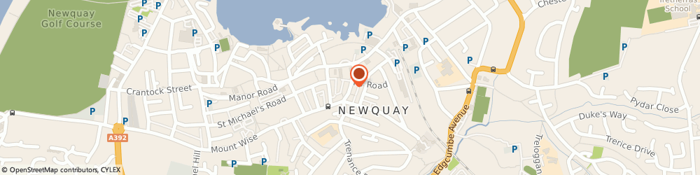 Route/map/directions to 8 & 7's Taxis, TR7 1AS Newquay, BERRY ROAD