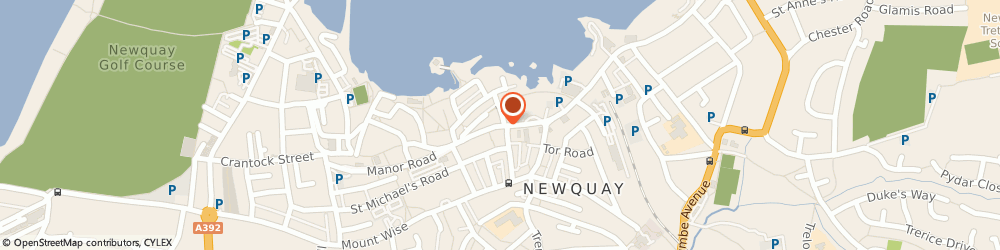 Route/map/directions to Victoria Cabs, TR7 1DB Newquay, East St