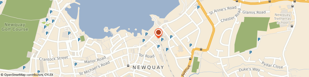 Route/map/directions to Bluebird Taxis, TR7 2NF Newquay, 8, STATION PARADE