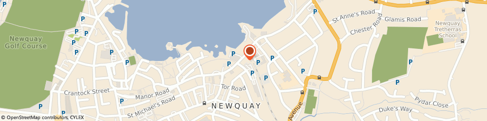 Route/map/directions to A 2 b Newquay Travel, TR7 2NF Newquay, 8/9 Station Parade