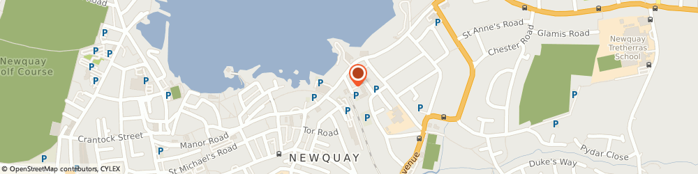Route/map/directions to Orient Chinese Take Away, TR7 2NG Newquay, 1 Station Parade