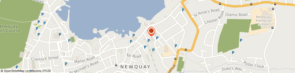 Route/map/directions to Tai-Sing, TR7 2NG Newquay, 5 Station Approach