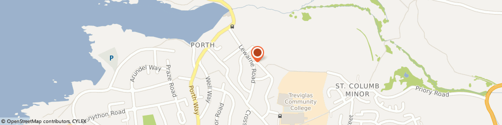 Route/map/directions to West Side Taxi, TR7 3JU Newquay, 25, Lewarne Rd