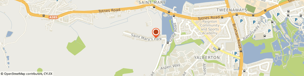Route/map/directions to The Driving School South West, TQ4 7DB Paignton, 32 St. Marys Park