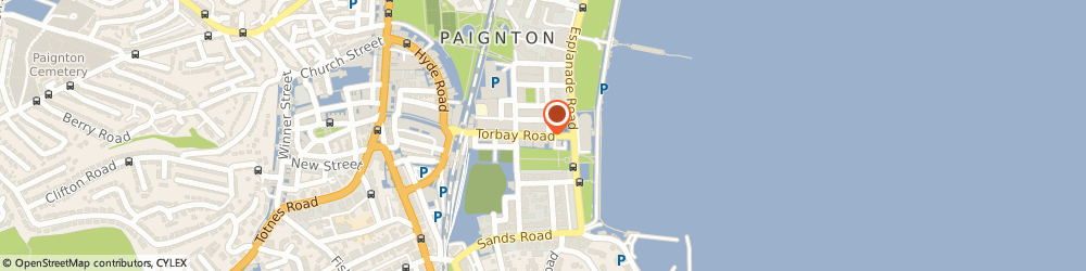 Route/map/directions to Talk Of The Town Paignton, TQ4 6AL Paignton, 46-52 Torbay Road