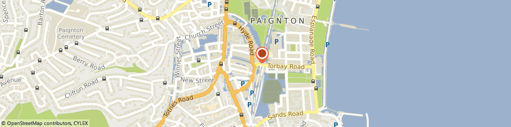 Route/map/directions to Vision Accessories, TQ4 6AA Paignton, 19 Torbay Road