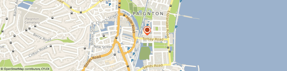 Route/map/directions to Dada Indian Cuisine, TQ4 6AE Paignton, 4a parkside road