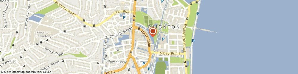 Route/map/directions to Ganges Indian Tandoori Restaurant, TQ4 5BP Paignton, 33 Hyde Rd