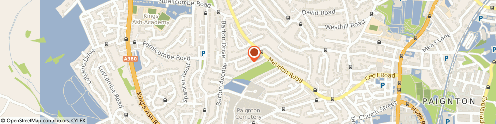 Route/map/directions to Mindready Solutions Ltd, TQ3 3JF Paignton, 9 HILLSIDE ROAD