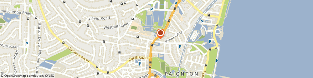 Route/map/directions to Indus Indian Takeaway, TQ32AH Paignton, 114 Torquay Rd