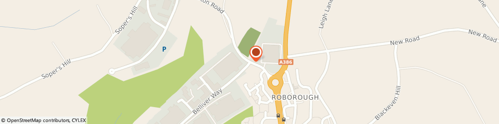 Route/map/directions to Zarlink Semiconductor, PL6 7BQ Plymouth, Tamerton Road