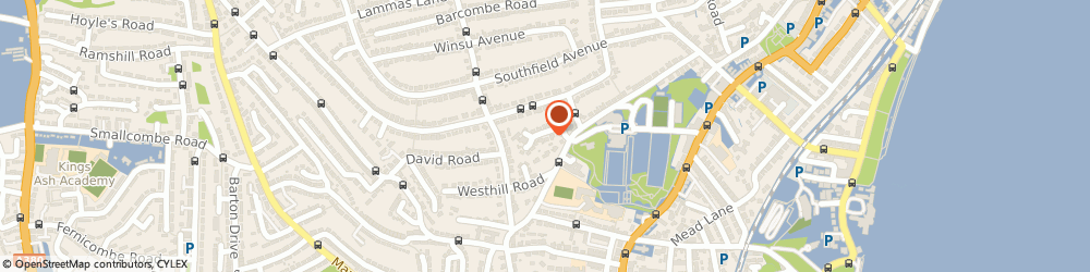 Route/map/directions to Achilles Systems Limited, TQ3 2LT Paignton, 9A Kingshurst Dr