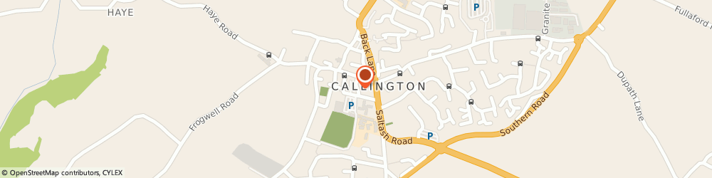 Route/map/directions to Prisms Haircare, PL17 7LB Callington, 4 Biscombes Ln