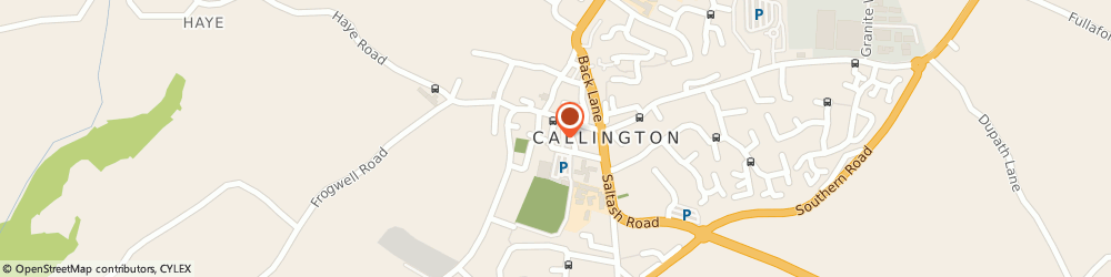 Route/map/directions to Expressions Hair Studio, PL17 7BE Callington, 7 New Road