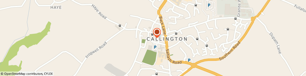 Route/map/directions to The Balti King, PL17 7BE Callington, 5 New Road