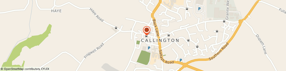 Route/map/directions to Subway, PL17 7AD Callington, 21 Fore Street