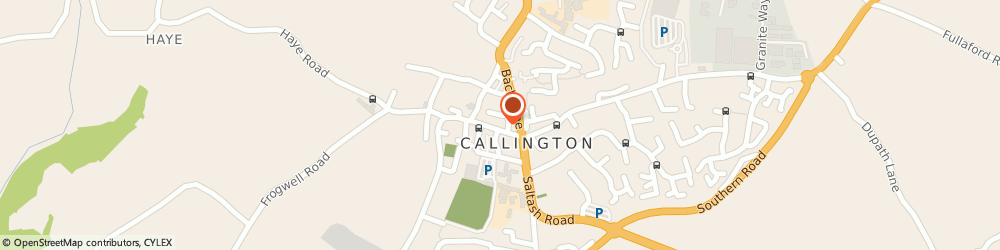 Route/map/directions to Kittows Callington, PL17 7AQ Callington, 41 FORE STREET