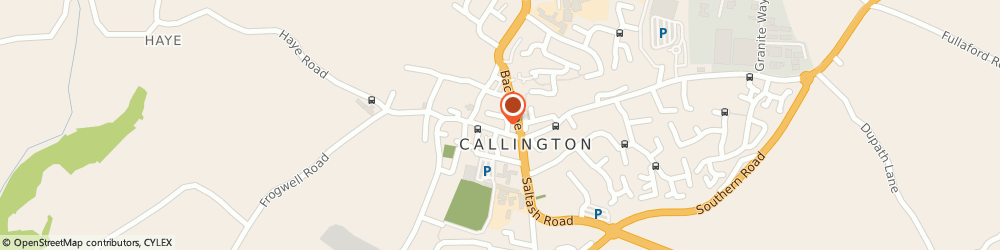 Route/map/directions to Westcountry Utilities Devon & Cornwall Limited, PL17 7AJ Callington, 52 FORE STREET