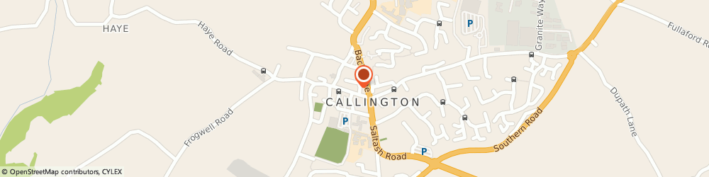 Route/map/directions to The Studio Addlestone Limited, PL17 7AJ Callington, 52 FORE STREET