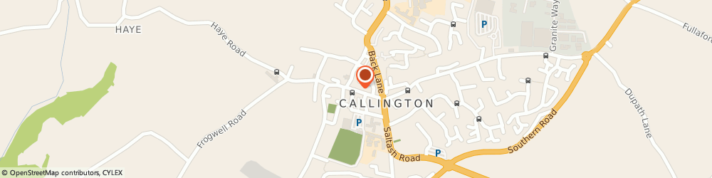 Route/map/directions to Lavish, PL17 7AQ Callington, 43 Fore Street