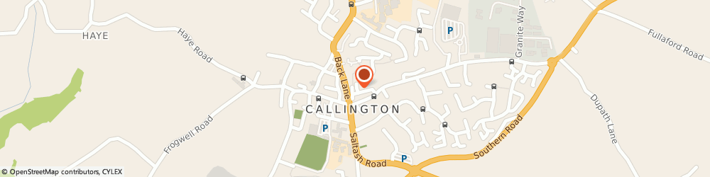 Route/map/directions to Shedrive, PL17 7BH Callington, 5 MARTIN SQUARE