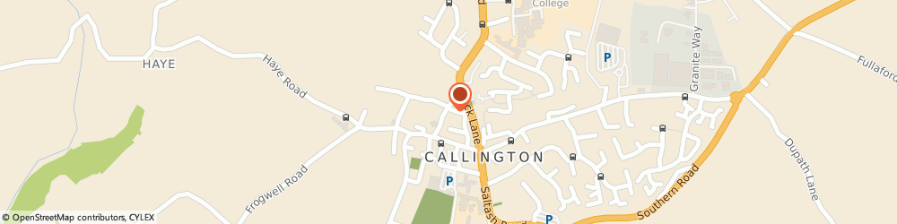 Route/map/directions to Lower House Guest House, PL17 7AN Callington, 9 Church Street