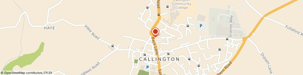 Route/map/directions to Piccasso's Hair Design, PL17 7AS Callington, 1/2 Newport