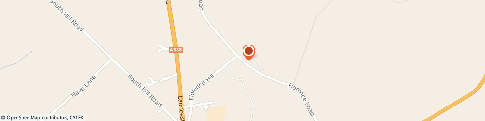 Route/map/directions to The Engine House at Compton Park, PL17 8EA Callington, Florence Road