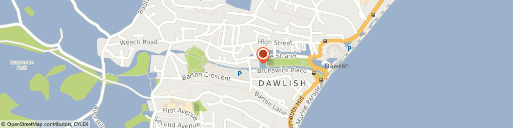 Route/map/directions to Retirement Care Ltd, EX7 9PY Dawlish, BROOKLANDS, LAWN TERRACE