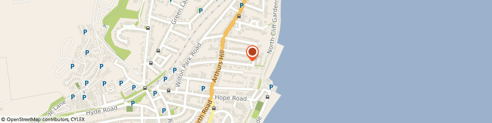 Route/map/directions to Den Clare Hypnotherapy, PO37 6ET Shanklin, 16 St Boniface Cliff Rd