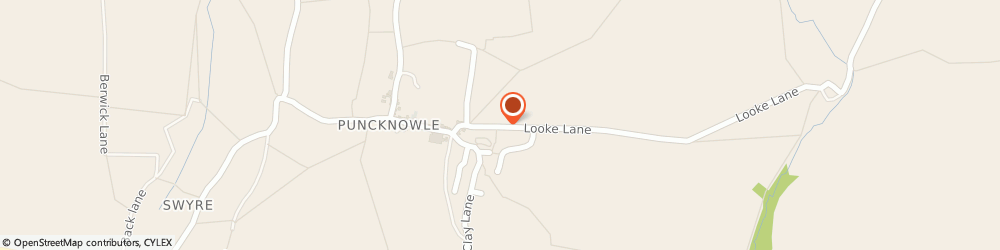 Route/map/directions to Offley Bed & Breakfast Dorchester Puncknowle, DT2 9BD Dorchester, Looke Lane