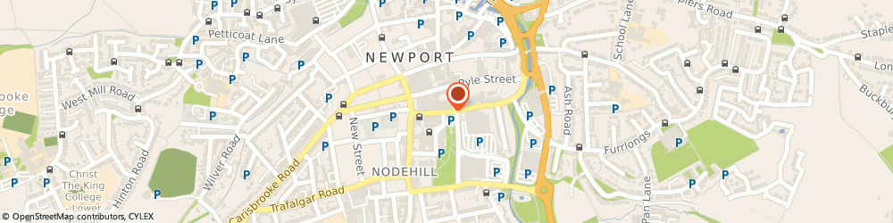 Route/map/directions to Arora Tattoo & Piercing Studio, PO30 1JE Newport, 22 SOUTH STREET
