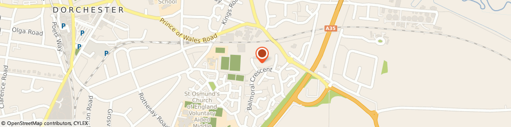 Route/map/directions to V And Q Accountancy, DT1 2TN Dorchester, 19 Armada Way