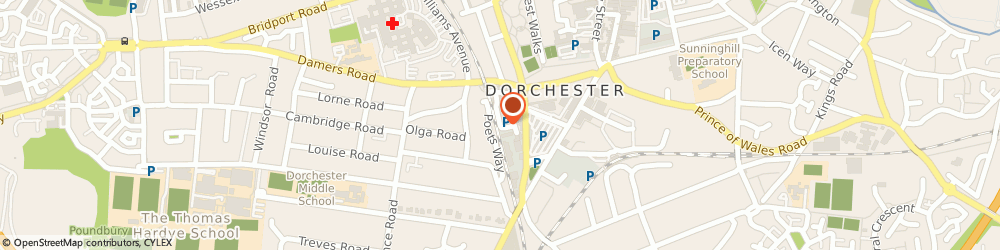 Route/map/directions to Car Radios (Dorchester), DT1 2LF Dorchester, 31C Great Western Rd