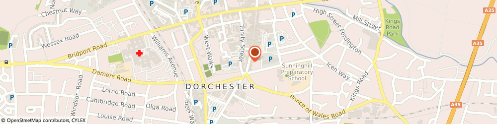 Route/map/directions to THE CO-OPERATIVE BANK, DT1 1BL Dorchester, 4 South Street