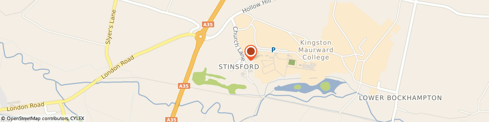 Route/map/directions to Public Loss Adjusters, DT2 8QD Dorchester, Stinsford