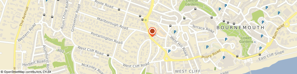 Route/map/directions to U-Escape, BH2 5PW Bournemouth, 1-3 Poole Hill, The Corner House