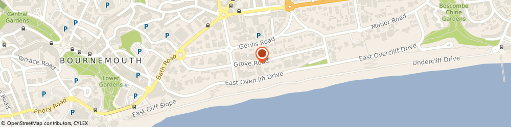 Route/map/directions to Yenton Hotel, BH1 3ED Bournemouth, 5 Gervis Rd