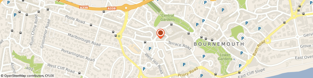Route/map/directions to The Lockey, BH2 5SE Bournemouth, 35 The Triangle