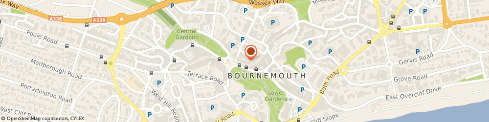 Route/map/directions to Post Office Limited, BH1 1DY Bournemouth, 9 - 13 Old Christchurch Road