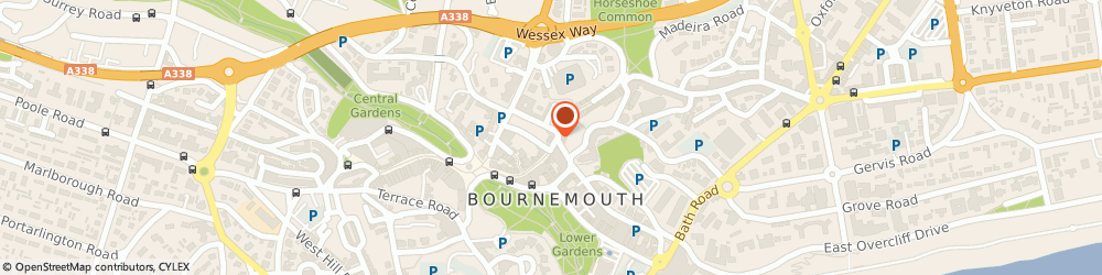 Route/map/directions to Clintons, BH1 1DT Bournemouth, 55 Old Christchurch Road