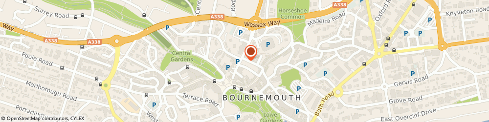 Route/map/directions to British Software Development, BH1 1BZ Bournemouth, 18 Albert Rd