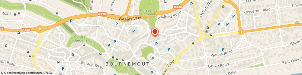 Route/map/directions to Cameo, BH1 2JA Bournemouth, Fir Vale Road