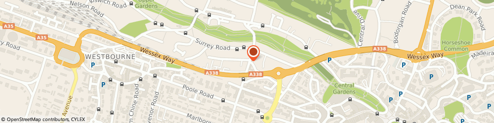 Route/map/directions to INFLATAFUN Ltd, BH2 6BG Bournemouth, 22 queens road, 6 Buckingham row