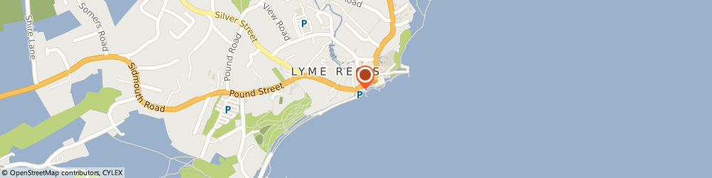 Route/map/directions to Red Panda, DT7 3QD Lyme Regis, 7 Broad St