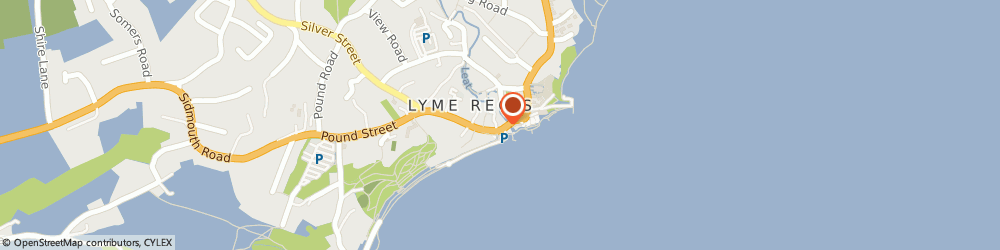 Route/map/directions to The Creperie, DT7 3QF Lyme Regis, 67B Broad Street