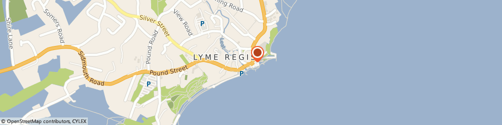 Route/map/directions to Award Winning Cafe, DT7 3QA Lyme Regis, 6 Bridge St