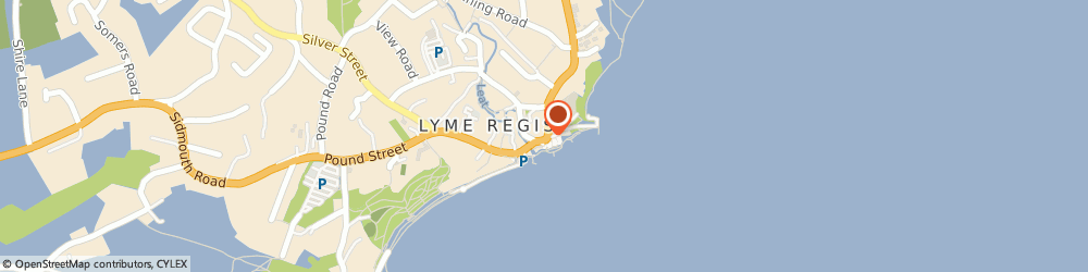 Route/map/directions to Aroma Cafe, DT7 3QA Lyme Regis, 6 Bridge St