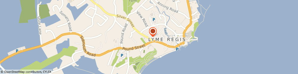 Route/map/directions to Amid Giants And Idols, DT7 3HR Lyme Regis, 59 Silver Street